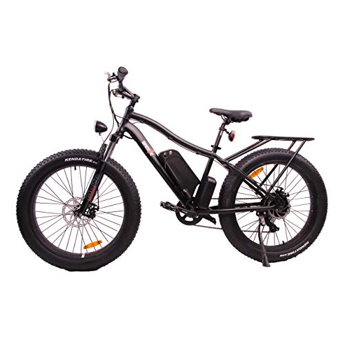 Breeze MIRI Electric Bike Fat Tire-Ebike,Mountain Bicycle: High Speed 500W Power Motor...