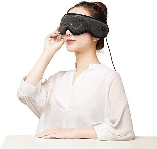CNMGM Augenmaske - Elektrische Heizkissen-Augenmaske Weit-Infrarot-Therapie Einstellbare Temperatur,...