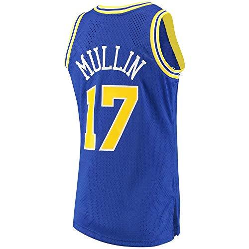 Nemwy Herren_Jugend_Chris_Mullin_#17_Blau_Sportbekleidung_Ausbildung_Basketball_Jersey S-XXL