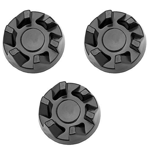 9704230 Blender Drive Coupling (3-Pack) by PartsBroz - Compatible with Whirlpool Blenders - Replaces WP9704230, AP6013694, PS11746921, WP9704230VP