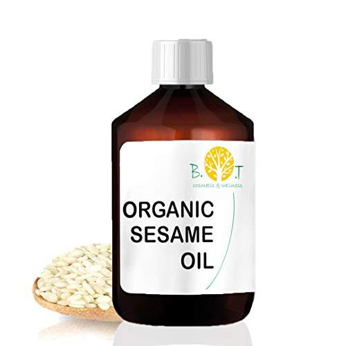 Bio-Sesamöl Desodoriert Ayurveda 100% natürlich Gesichts- und Körpermassageöl 1000 ml