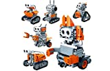 RC TECNIC Kit Robótica para Niños 6 en 1 Kitbots (Radiocontrol y Sensores) Robot Teledirigido para Montar, Juguetes Educativos