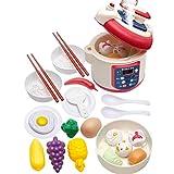 Juego de cocina de simulación de arroz de juguete para niños y niñas, para niños y niñas, arroz, juguete educativo