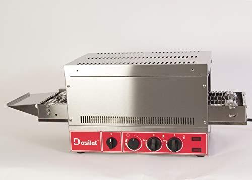 Dosierkopf TT3000, 3000 W, elektrisch, einphasig, mit Leistungsregler. Für PAN, PIZZAS, BOCADILLOS, GRATIS usw. Ideal für FRANQUICIAS und/oder SERVICE DELIVERY