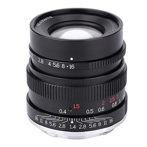 Objetivo para cámara E Mount 7artisans 35 mm F1.4 Lente Full Frame para Sony E Mount A7 A7R A7RII A7S A7SII A6500 A6300 A6000 A5100 A5000