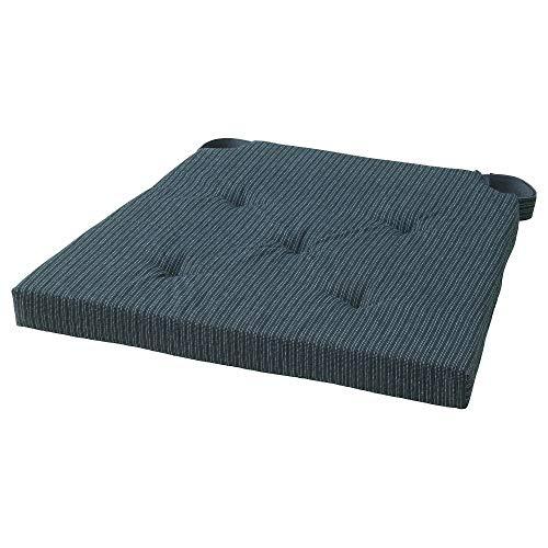 IKEA ASIA Justina Stuhlkissen, dunkelblau gestreift