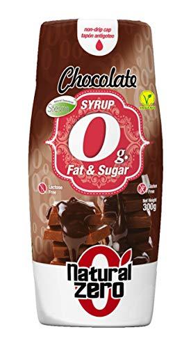 Natural Zero Syrup 400 ml Cioccolato