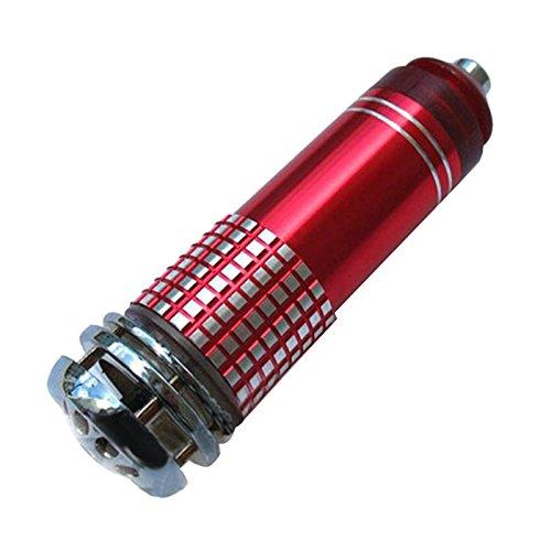 oobest Luchtreiniger, mini-auto-luchtreiniger, ionen-luchtreiniger, zuurstofstang, naast de auto, anion, sterilisatie, luchtreiniger, 1 stuk Rood