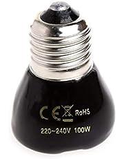 Evcil Hayvan Kümes Isıtıcı Seramik Ampul 100W Seramik Infrared Ampül E27 Duy Tipi