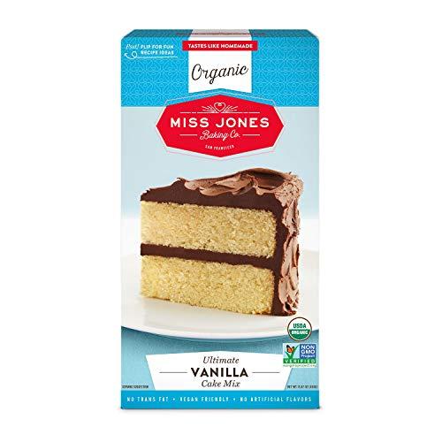 Miss Jones Baking Organic Vanilla Cake Mix, 15.87 Ounce