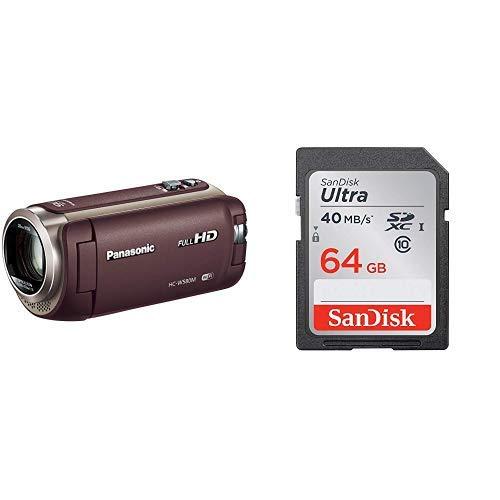 パナソニック『HDビデオカメラ(HC-W580M)』64GB SDカードセット