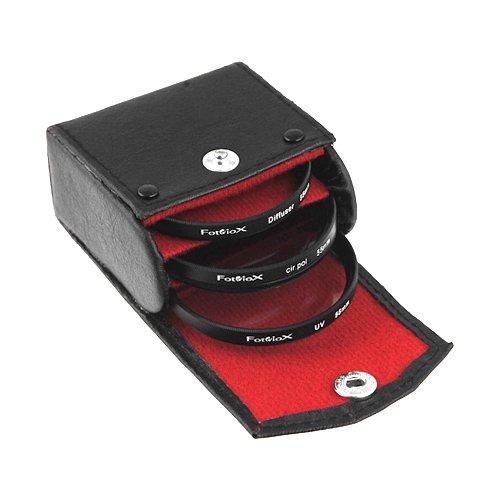 Kit de filtros de Fotodiox, UV, polarizadores Circulares, difusor Suave, 55 mm para Canon, Nikon, Sony, Olympus, Pentax, Panasonic Lentes de cámaras.