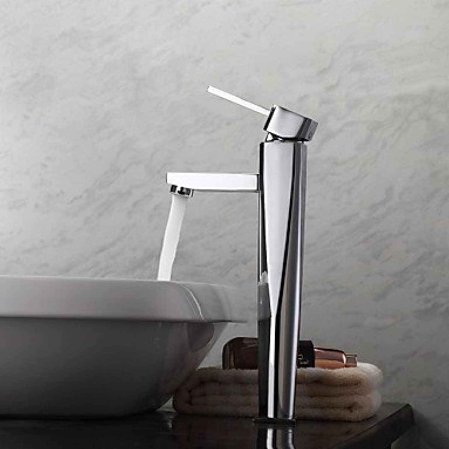 GDS Faucet£? Contemporary ship single lever Chrome bathroom sink faucet hole