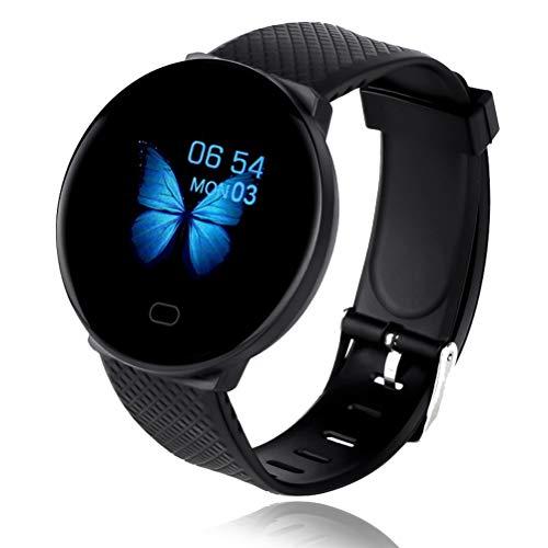 Bluetooth Smart Watch Reloj Inteligente Mujer Hombre Smartwatch Pulsómetro,Cronómetros,Calorías,Monitor de Sueño,Podómetro Pulsera Actividad Inteligente Impermeable,Android e iOS