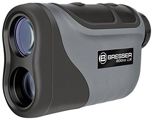 Bresser 6x25 laser afstandsmeter/snelheidsmeter met hoge nauwkeurigheid en snelheidsmeting tot 300 km/h inclusief statische schroefdraad en tas