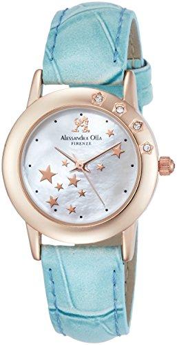 [アレサンドラオーラ]Alessandra Olla 腕時計 レディースウォッチ シューティングスター ブルー AO-810 BL レディース