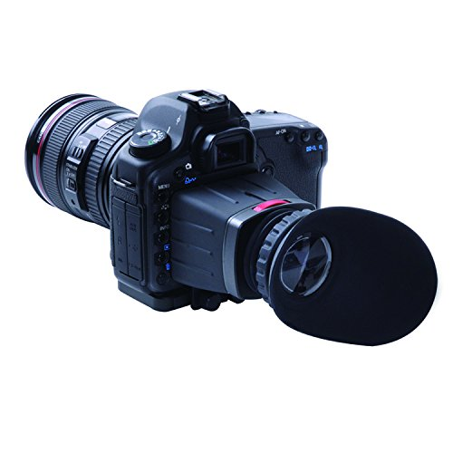 Movo Photo VF25 Universal 2.5X LCD Video Viewfinder for Canon EOS, Nikon, Sony Alpha, Olympus and Pentax DSLR Cameras
