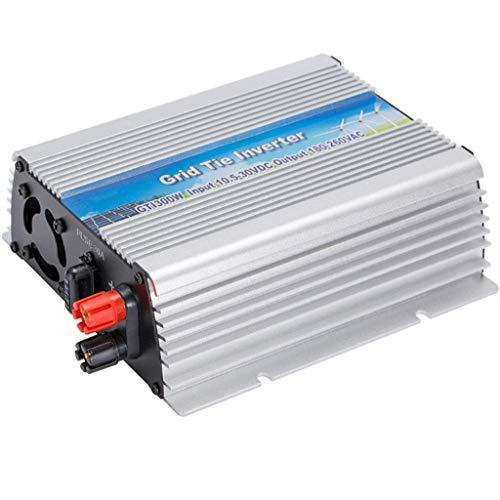 ZHCJH 300W Sine Wave Inverter, DC10.5-30V AC 110V/220V High Efficiency Miniature Solar Photovoltaic -Connected Inverter Compatible with Smartphones, Tablet, Laptop, Nebulizer and More