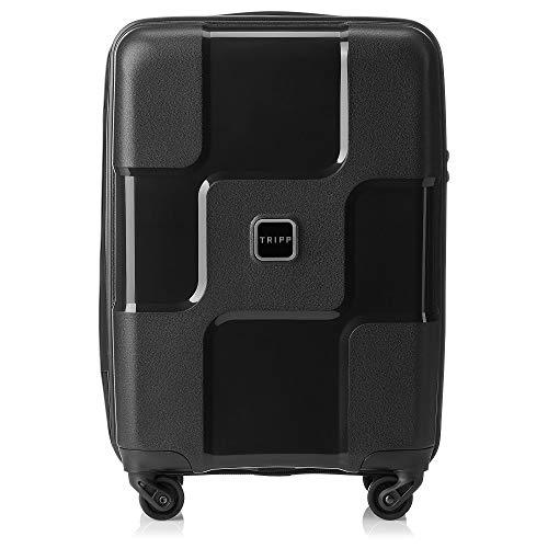 Tripp Black II World 4 Wheel Cabin Suitcase