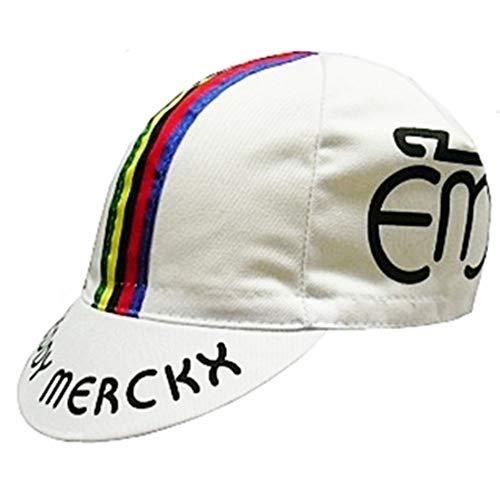 Summit Finish Retro Team Radkappen, Unisex Kinder, Team - Merckx, Team - Merckx