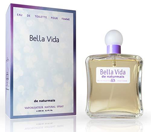 Bella Vida Eau De Parfum Intense 100 ml. Compatible con La Vie Est Belle, Perfume Equivalente de Mujer