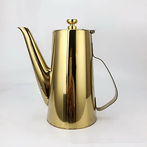 GPPZM Stainless Steel Long Mouth Indefinitely Teapot Wat Cold Fruit Max 76% OFF Pot Juice