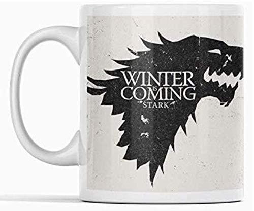Clapper Taza Juego de Tronos. Winter IS Coming Stark