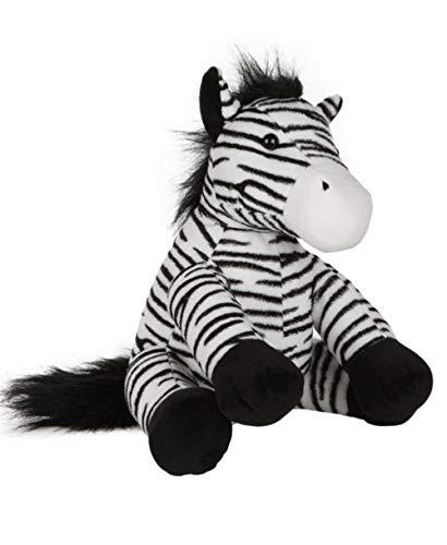 Bärchenmacher Kuscheltier Zara Zebra, 40 cm – waschbar, zum selber befüllen