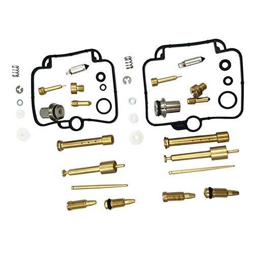 Carburador y accesorios Kit de reparación de carburador de carburador de carburador carburador de alto rendimiento 2 para Suzuki GS500E BMW F650 F650SE F650GS Motocicleta Power Jet para Scooter, ATV,