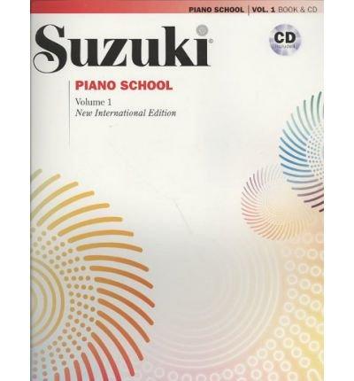 Suzuki Piano School Volume 1 with CD