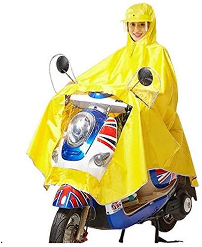 Motocicleta eléctrica solo pueblo del impermeable, montar a caballo al aire libre for adultos hombres y de mujeres del casco de tipo máscara del impermeable, resistente al agua Aumentar grueso