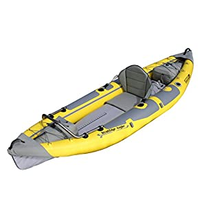 Advanced Elements StraitEdge Angler Kayak, Unisex, Amarillo-Amarillo, 295 cm 6