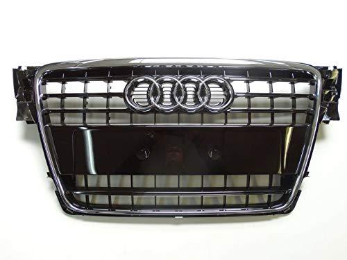 Original Audi A4 8K B8 Kühlergrill Frontgrill schwarz glänzend