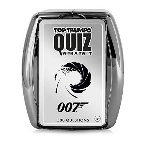 James Bond Top Trumps Quizspiel