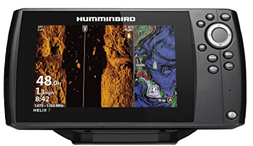 Humminbird 410950-1NAV HELIX 7 CHIRP MSI (MEGA Side Imaging) GPS G3 NAV Fish Finder