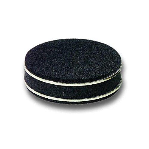 inakustik - 008509 - Premium Doubletten Absorber| Mit spezieller Gummimischung für optimale Dämpfung | 4er Set in Chrom | Belastbar bis 20 kg/Durchmesser: 55mm, Stärke: 15mm