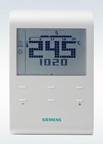 Siemens RDE100.1 Thermostat für Heizungssteuerung, wöchentliche Programmierung für 5+2