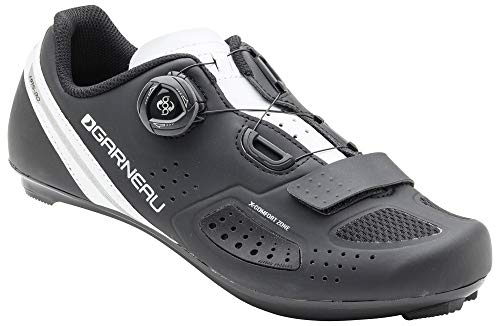 Louis Garneau, Women's Ruby 2 Road Bike Clip-in Cycling Shoes for All Road and SPD Pedals, Black, US (6.5), EU (37)