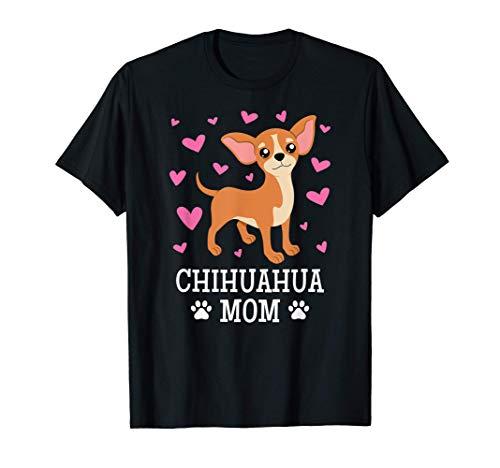 Per donne, ragazze, proprietari di cani Chihuahua Maglietta
