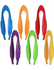 STOBOK Pinzas Jumbo Pinzas de Plástico para Preescolar Juguetes de Clasificación de Colores Herramientas de Enseñanza de Plástico para Desarrollar Fuerza Y Juego de Coordinación para