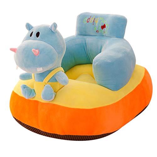 LOVIVER Estire La Cubierta Suave del Sofá del Sofá de La Funda Deslizante del Sofá, Protector Antideslizante Lavable de Los Muebles - Hipopótamo, Individual