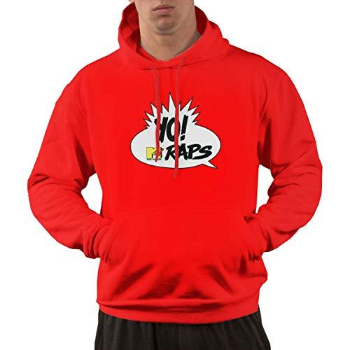 Tengyuntong Hombre Sudaderas con Capucha, Sudaderas, Men's Pullover Hooded Sweatshirt - Raps