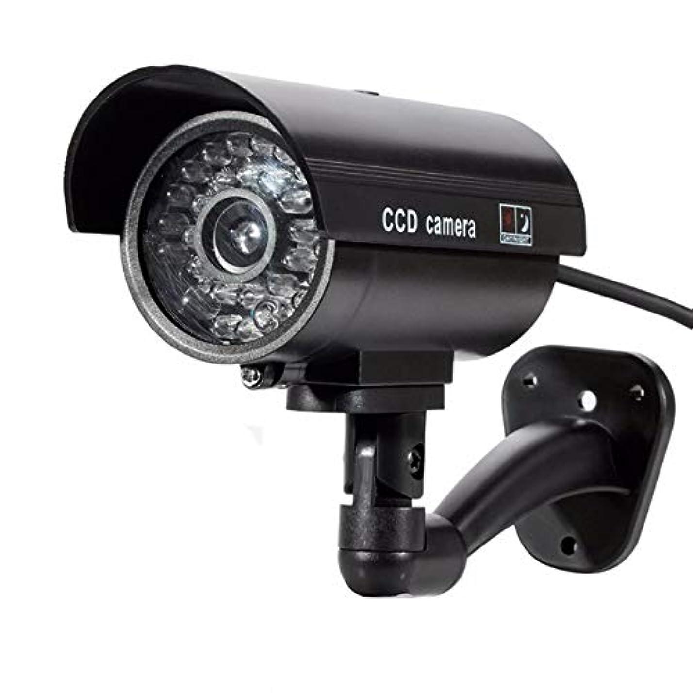 輸血買う騒乱点滅の導かれたライトが付いているIRの弾丸の偽のカメラを監視する偽のセキュリティ監視のビデオのための屋外のダミーカメラ