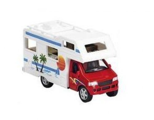 Unbekannt Wohnmobil rot Modellauto Spritzguss