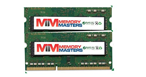 MemoryMasters 16GB 2 X 8GB Memory for Apple MacBook Pro Core i7 2.3 GHz 17' Early 2011 RAM Brand (Renewed)
