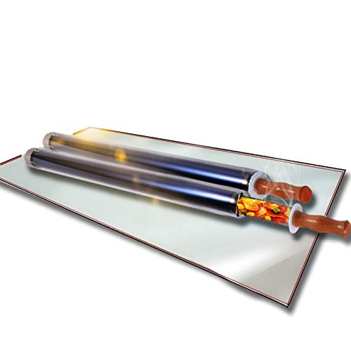 Himamk Portable Solar Cooker/Stove/Oven/BBQ Grill,Parrilla Solar Solar Cocina Solar Barbacoa Estufa Portátil Solar Horno Sun Cooker Barbacoa Grill La Pesca 2.65kg,Doubletub