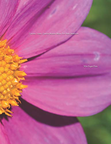 Cosmea Flower Cosmos Blossom Bloom Pink Plant Notebook