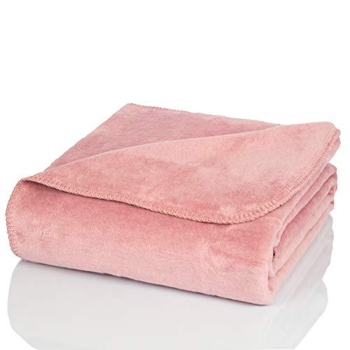 Glart - Manta XL de lana suave y gran capacidad térmica, mu