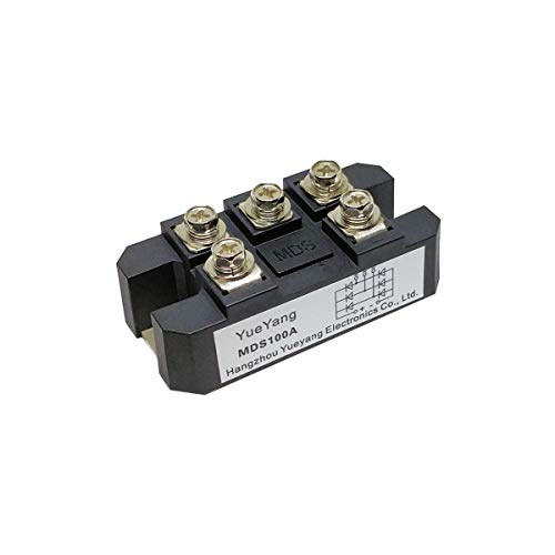 YueYang MDS100A 100amp 3 phase diode bridge rectifier ,full bridge rectifier ac to dc,100A1600V silicon power rectifier diode