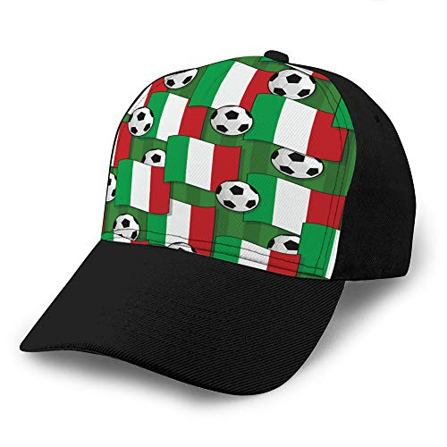 Hyg03j4 Unisex Baseball Cap Baseball Cap Baseball Cap Italien Snapback